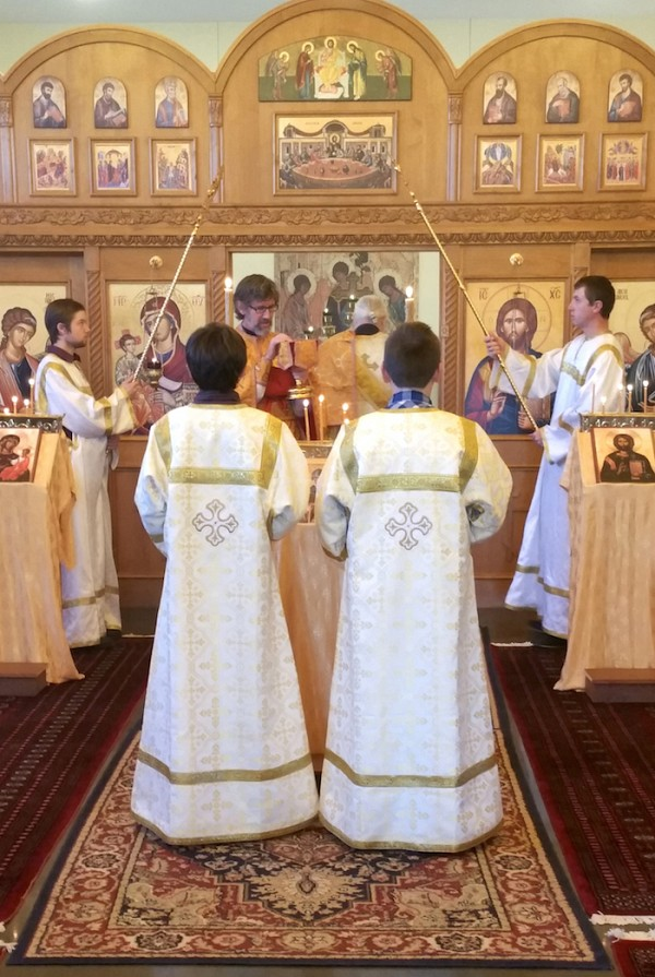 Divine Liturgy at St. Anthony Orthodox Church