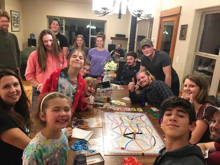 Church school students celebrate Saint Nicholas Sunday.